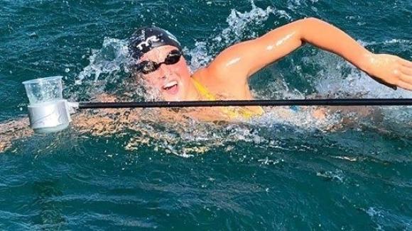 Нов грандиозен успех за Василики Кадоглу и варненското плуване.