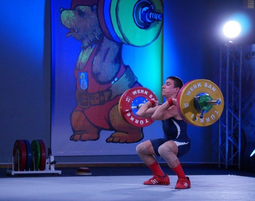 На Европейско първенство по вдигане на тежести